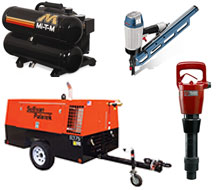 Air compressor and air tool rentals in Whitley & Kosciusko Counties