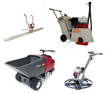 Concrete tool rentals in Whitley & Kosciusko Counties