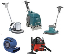 Floor Care equipment rentals in Whitley & Kosciusko Counties