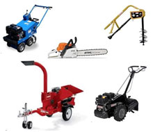 Lawn & garden equipment rentals in Whitley & Kosciusko Counties