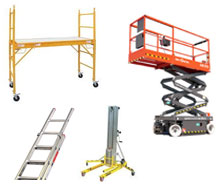 Forklift, boom lift, scissor lift, and aerial lift rentals in Whitley & Kosciusko Counties