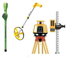 Surveying equipment rentals in Whitley & Kosciusko Counties
