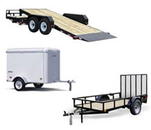 Trailer rentals in Whitley & Kosciusko Counties