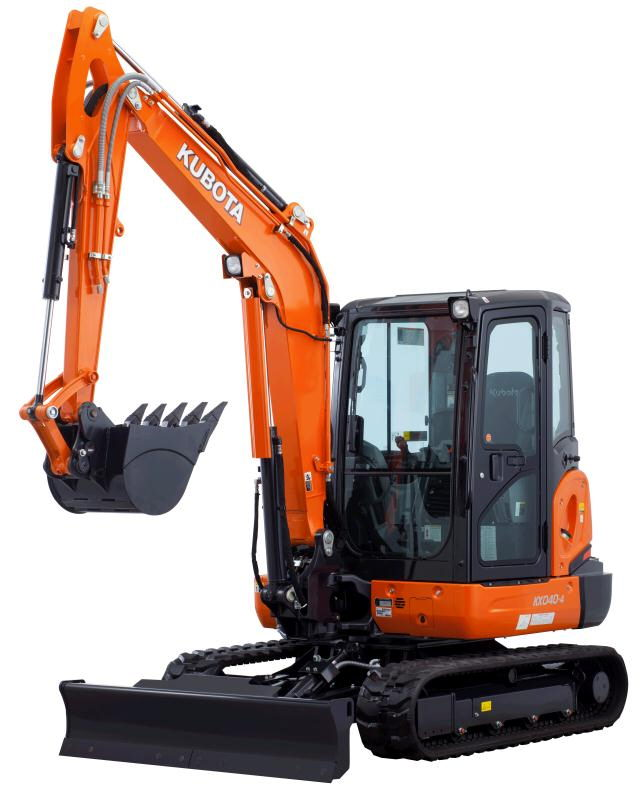 Where to find Excavator-Rubber Tracks.KubotaKX040 Lg in Fort Wayne