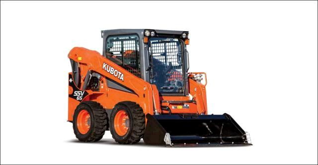 Where to find Skidloader.. w  Wheels Kubota SSV65 in Fort Wayne